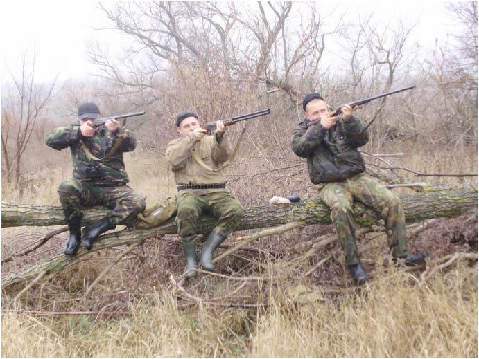 охоту в Астрахань осенью
